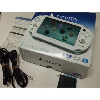 プレイステーションヴィータ(PlayStation Vita)のt-y様専用PSVITA 2000 Pink とLightBlue/White(携帯用ゲーム本体)