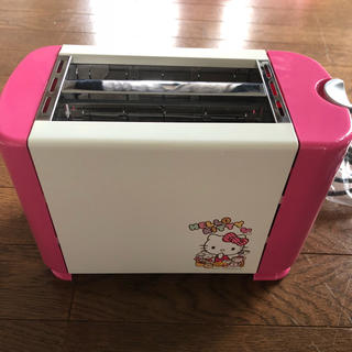 ハローキティ(ハローキティ)のキティちゃん  トースター(調理機器)