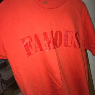アルマーニエクスチェンジ(ARMANI EXCHANGE)のARMANI EXCANGE Tシャツ オレンジ プレミア(Tシャツ/カットソー(半袖/袖なし))