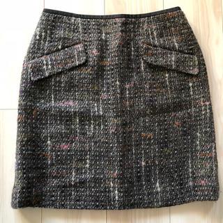 デプレ(DES PRES)のTOMORROWLAND / DE PRES ツイードスカート(ひざ丈スカート)
