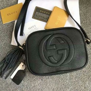 Gucci - 実物の写真 ディスコバッグ グッチ ソーホー ディスコ ショルダーバッグ