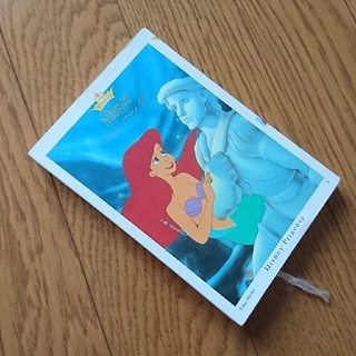 ディズニー(Disney)の美品 Disney ディズニー リトルマーメイド アリエル 本 小説 (絵本/児童書)