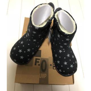 アンパサンド(ampersand)の【新品】スター柄 ブーツ 15cm ampersand  FOインターナショナル(ブーツ)