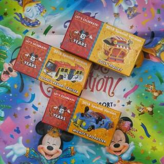 ディズニー(Disney)のディズニーリゾート スクリーンデビュー90周年 ミッキーバースデー トミカセット(ミニカー)
