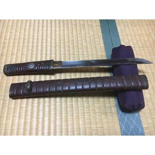 短刀 照廣 日本刀(武具)