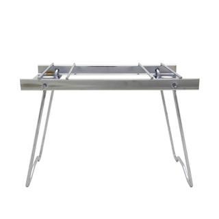 イーピーアイ(EPI)のソロキャンプの常備品!使い道色々 折畳式 ステンレス製 ポッドスタンド (調理器具)