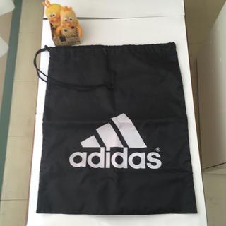 アディダス(adidas)の17大きいサイズアディダス整理袋(ロゴ・紐とめに傷あり)送料込400円(日用品/生活雑貨)