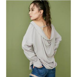 GYDA - バッグドレープシャツ
