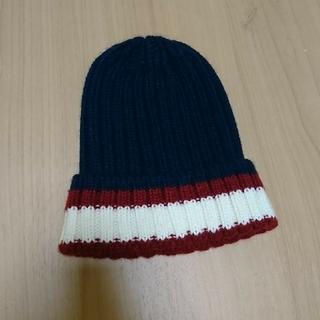 アクアガール(aquagirl)のaquagirl アクアガール トリコロール ニット帽(ニット帽/ビーニー)