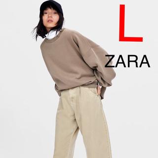 ZARA - ZARA  オーバーサイズパーカー スウェット