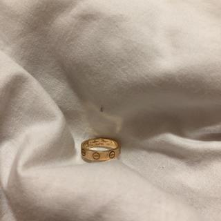 カルティエ(Cartier)のカルティエ  ミニラブリング  お値下げ致しました。(リング(指輪))