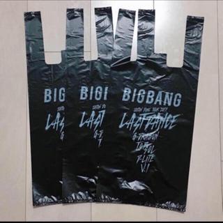 ビッグバン(BIGBANG)のBIGBANG ローソン レジ袋 3枚(K-POP/アジア)