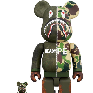 BE@RBRICK READYMADE x A BATHING APE