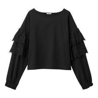 ジーユー(GU)のgu プルオーバー 厚手Tシャツ(カットソー(長袖/七分))