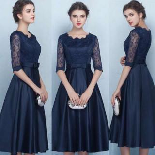 ‼️本日限定‼️刺繍ドレス パーティードレス ワンピース 結婚式 二次会