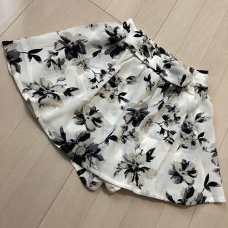 花柄 スカート キュロット(キュロット)