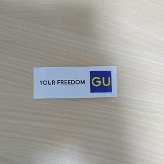 ジーユー(GU)のGUステッカー(その他)