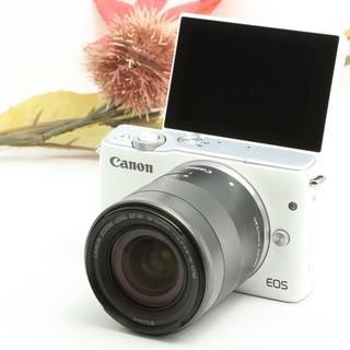 キヤノン(Canon)の★自撮りもWi-Fiスマホ転送も★キャノン EOS M10(ミラーレス一眼)