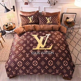 LOUIS VUITTON - LOUIS VUITTON寝具カバー 四節適用&高品質生 4点セット