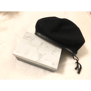 アダムエロぺ(Adam et Rope')のアダムエロペ♡美品♡ウールベレー帽(ハンチング/ベレー帽)