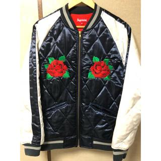 シュプリーム(Supreme)のSupreme rose bonber sizeM(スタジャン)