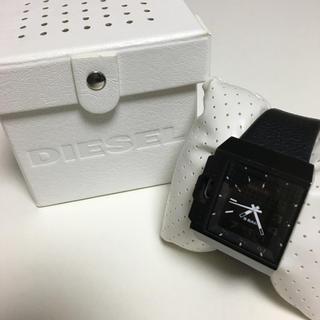 ディーゼル(DIESEL)のDISEL ワイドレザーベルト(腕時計(アナログ))