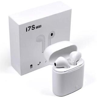 Bluetoothワイヤレスイヤフォン ホワイト(ヘッドフォン/イヤフォン)