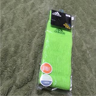 アディダス(adidas)のレッグウォーマー新品アディダスadidas新品サッカー靴下ゴルフ定価2500円(ソックス)