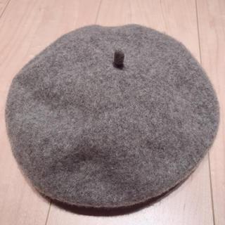 アースミュージックアンドエコロジー(earth music & ecology)の美品 ウールベレー帽(ハンチング/ベレー帽)
