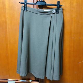 プロポーションボディドレッシング(PROPORTION BODY DRESSING)のプロポーション  カーキスカート(ひざ丈スカート)