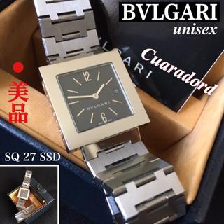 ブルガリ(BVLGARI)のBVLGRI/ブルガリ腕時計クアドラード ボーイズサイズSQ27SSD(腕時計)
