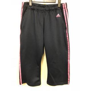 アディダス(adidas)のadidas アディダス ジャージ ひざ下丈 パンツ (Lサイズ)(ウェア)
