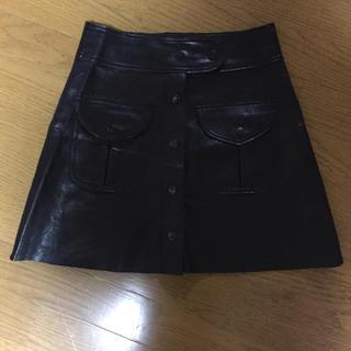 ZARA - ザラレザースカート超美品 お値下げ