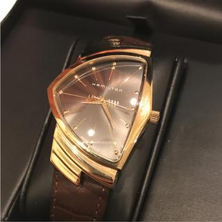 ハミルトン(Hamilton)の激レア ハミルトン ベンチュラ 50周年 ゴールド 世界限定1000本(腕時計(アナログ))