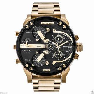 ディーゼル(DIESEL)の人気モデル ゴールド×ブラック ディーゼル DIESEL DZ7333(腕時計(アナログ))