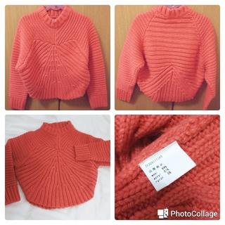 インフルエンス(Influence)のオレンジセーター(ニット/セーター)