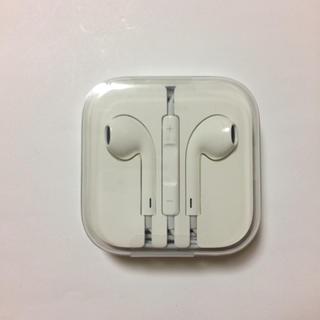 アップル(Apple)の新品未使用 純正 iPhone イヤホン apple(ヘッドフォン/イヤフォン)