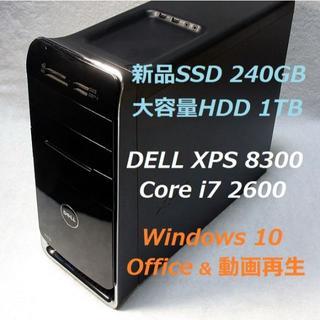 デル(DELL)のつむぎ様 専用 i7-2600 新品SSD+HDD 16GB GTX560 無線(デスクトップ型PC)