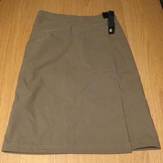mont bell - mont-bell ストレッチ O.D. スカート Sサイズ ブラウンベージュ