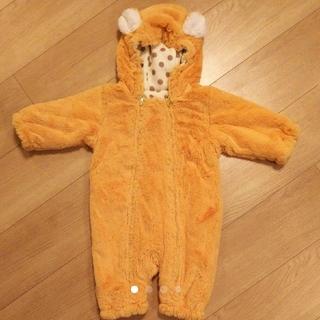 キッズズー(kid's zoo)のキッズズー ジャンプスーツ カバーオール 70センチ(ジャケット/コート)