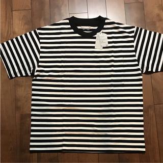 MUJI (無印良品) - 新品 未使用 MUJI LABO ボーダー Tシャツ ムジラボ