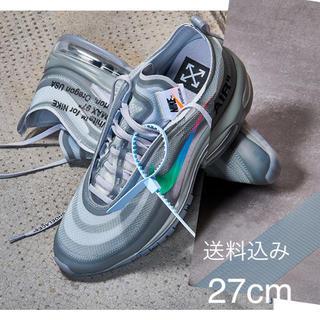 ナイキ(NIKE)のNIKE  off-white THE TEN:AIR MAX 97 OG(スニーカー)