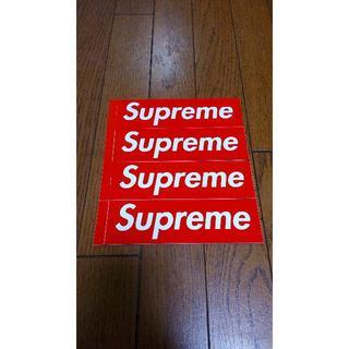シュプリーム(Supreme)の新品 Supreme ステッカー 4枚セット(その他)