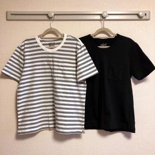 MUJI (無印良品) - 【無印良品】Tシャツ2枚セット