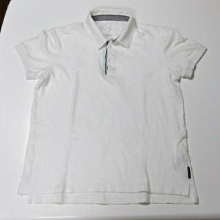 アルマーニエクスチェンジ(ARMANI EXCHANGE)の♡ARMANI EXCHANGE白ポロシャツ(ポロシャツ)