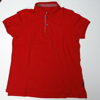 アルマーニエクスチェンジ(ARMANI EXCHANGE)の♡ARMANIEXCHANGE赤ポロシャツ(ポロシャツ)