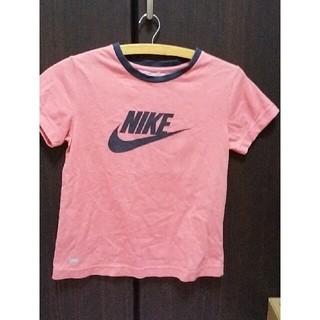 ナイキ(NIKE)のナイキドライフィット綿ポリ165/88A  半袖スポーツウエア レディース(Tシャツ(半袖/袖なし))