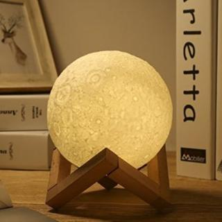 ★即日発送★ 月光 月のランプ USBタイプ 間接照明 13cm(フロアスタンド)