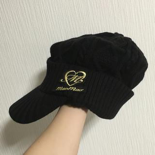 アリーナ(arena)の帽子 ニット帽(ニット帽/ビーニー)