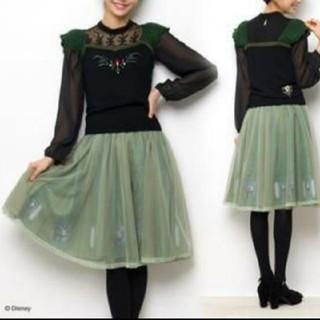 シークレットハニー(Secret Honey)のシークレットハニー アナと雪の女王 戴冠式チュールスカート(ひざ丈スカート)
